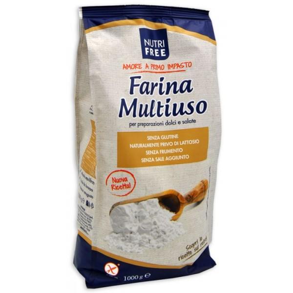 NUTRIFREE FARINA MULTIUSO 1 KG