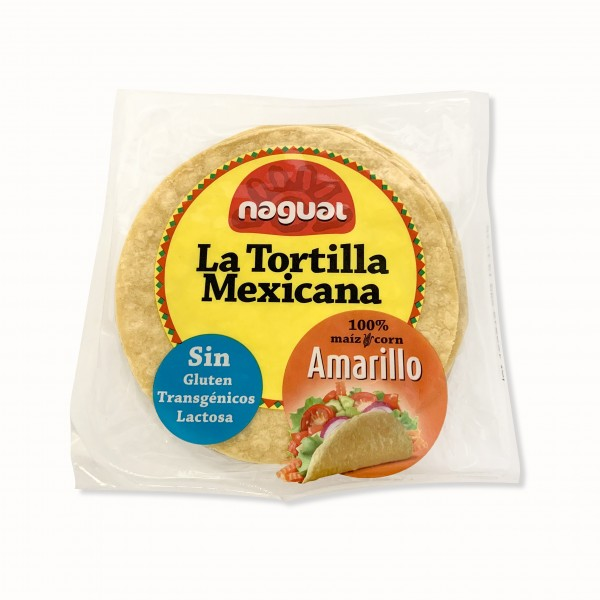 TORTILLA MESSICANA MAIS GIALLO 200G