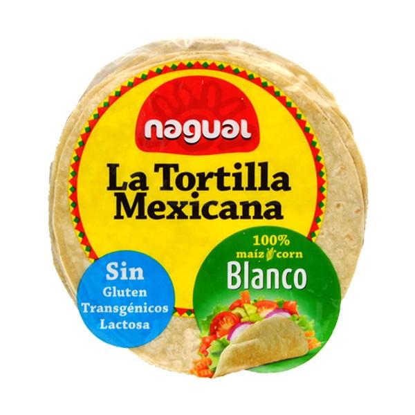 NAGUAL TORTILLA MAIS BIANCO 200G