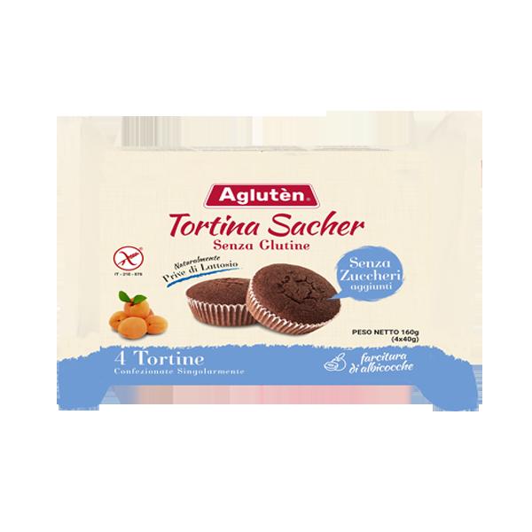 AGLUTEN TORTINA SACHER 4X40