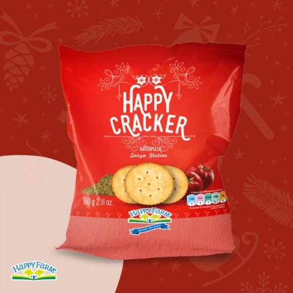 HAPPY FARM HAPPY CRACKERS PIZZA 60G