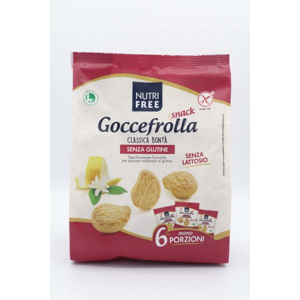 NUTRIFREE GOCCEFROLLA SNACK CLASSICO 240G