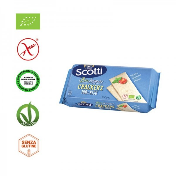SCOTTI CRACKERS DI RISO 200G