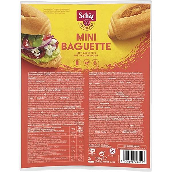 SCHAR MINI BAGUETTE 150G