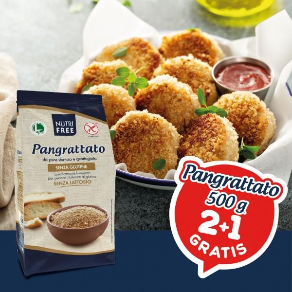 NUTRIFREE PANGRATTATO 500G PROMO 3X2