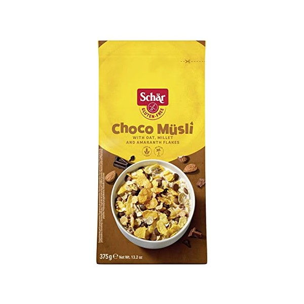 SCHAR CHOCO MUSLI 375 G