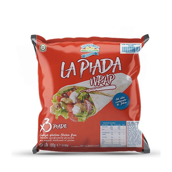 HAPPY FARM LA PIADA WRAP 3X60G