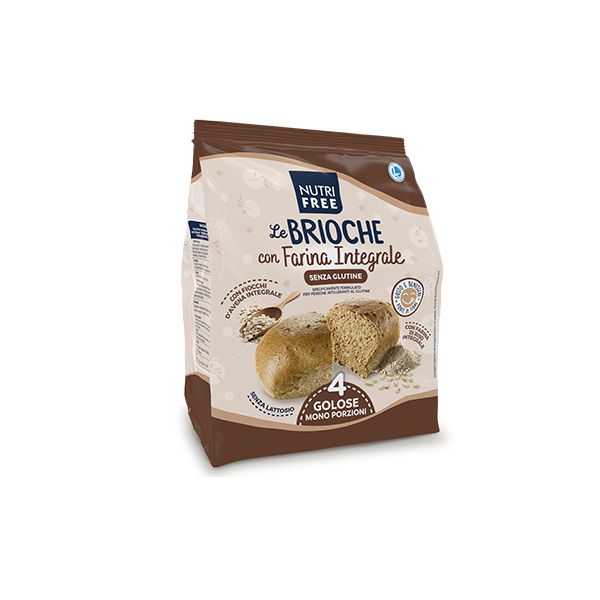 NUTRIFREE LE BRIOCHE CON FARINA INTEGRALE 4X50G