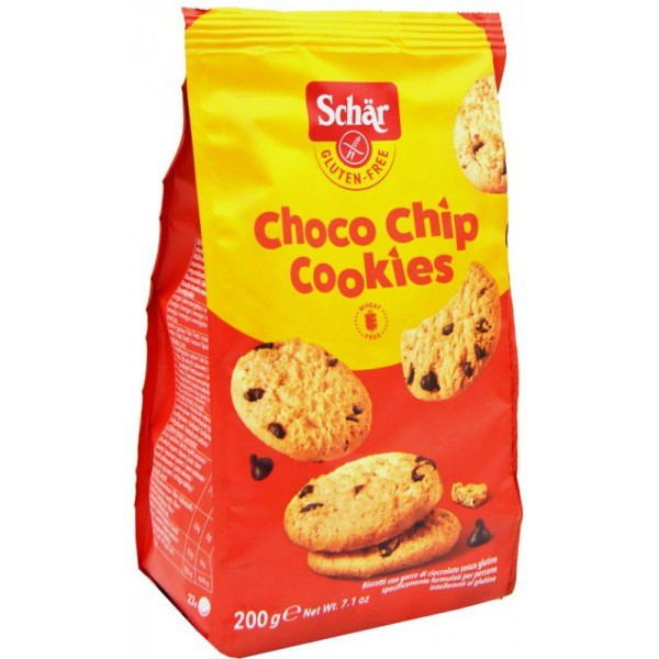 SCHAR CHOCO CHIPS COOKIES 200G