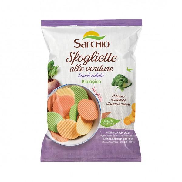 SARCHIO SFOGLIETTE ALLE VERDURE 55G