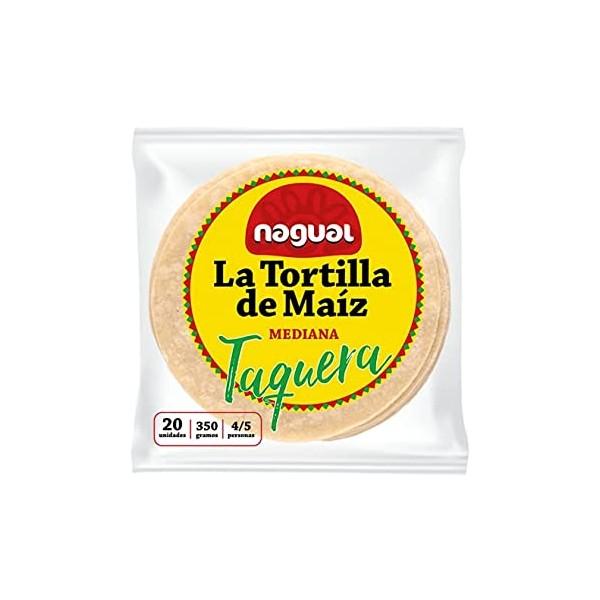 NAGUAL TORTILLA MAIS GIALLO MEDIANA 20X17,5G