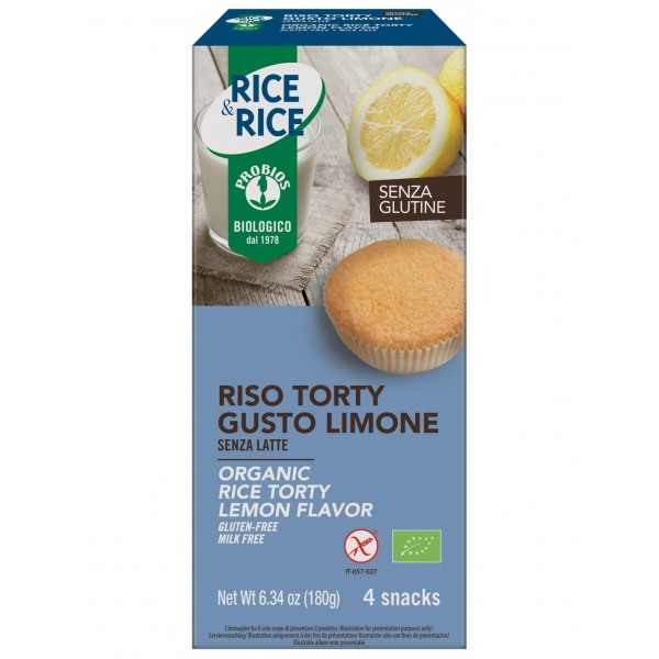 PROBIOS RISO TORTY GUSTO LIMONE 4X45G