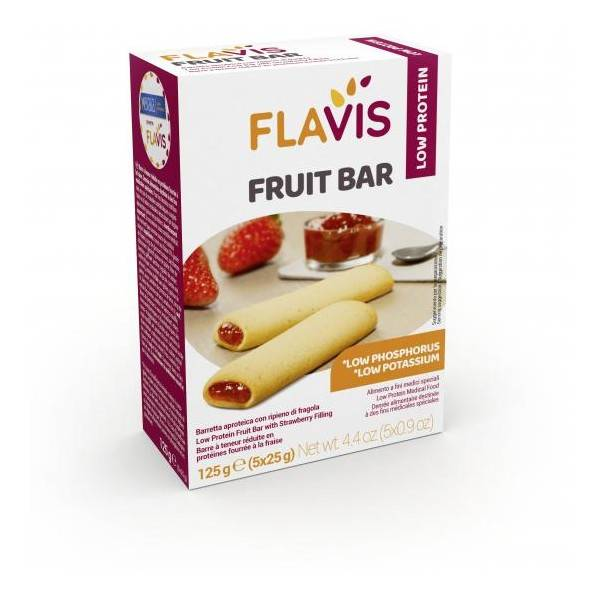 FLAVIS FRUIT BAR 125G