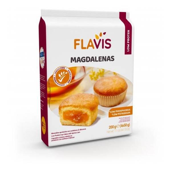 FLAVIS MAGDALENAS APROTEICHE 200G