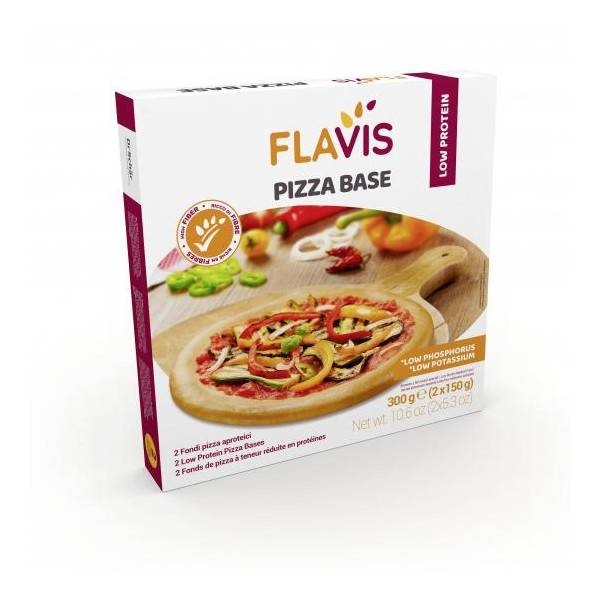 FLAVIS PIZZA BASE APROTEICA 300G