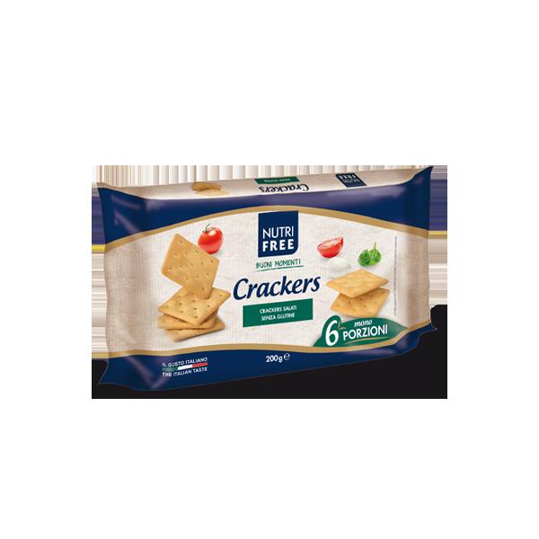 NUTRIFREE CRACKERS SENZA GLUTINE