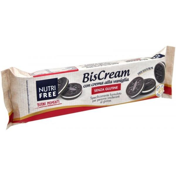 Nutrifree Biscream Alla Vaniglia Senza Glutine 125g